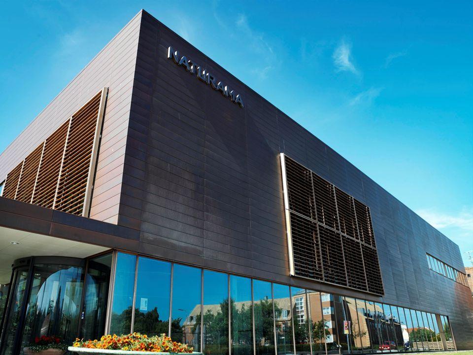 Naturama Moderne naturhistorisk museum. 72.500 besøgende i 2010, jævnt stigende siden åbning i 2005 (55.000)