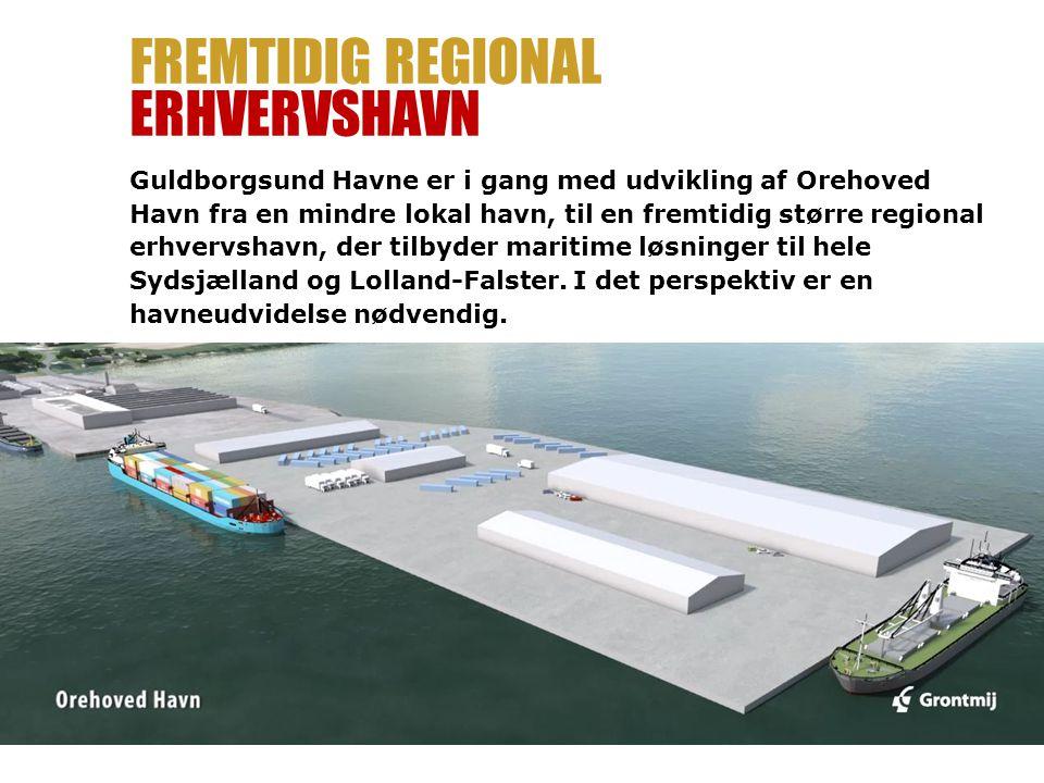 Fremtidig regional erhvervshavn