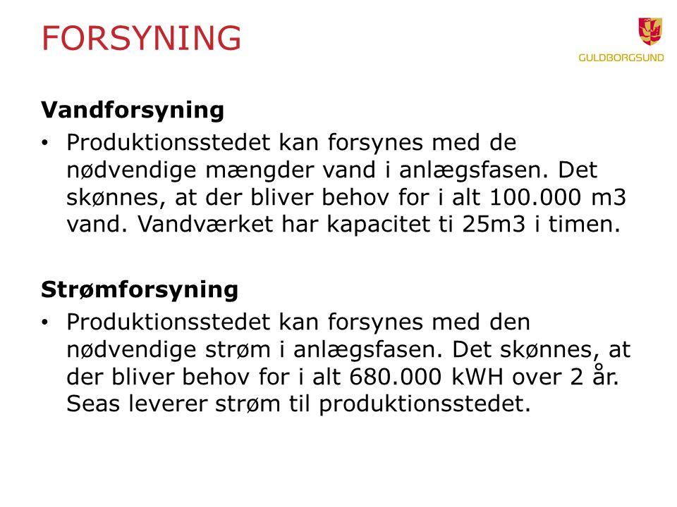 Forsyning Vandforsyning