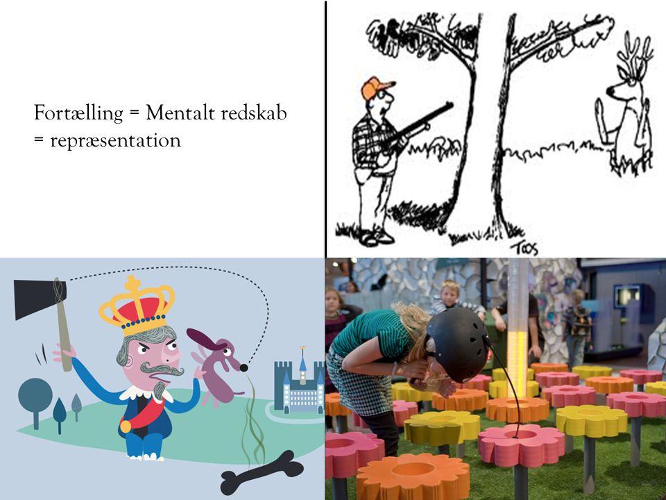 Fortælling = Mentalt redskab = repræsentation