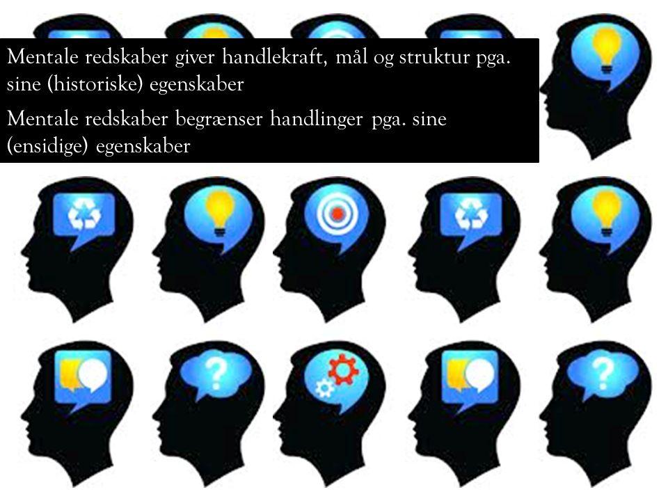 Mentale redskaber giver handlekraft, mål og struktur pga