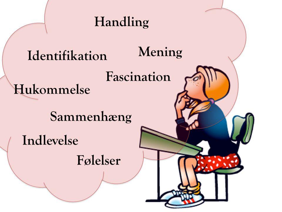 Handling Mening Identifikation Fascination Hukommelse Sammenhæng