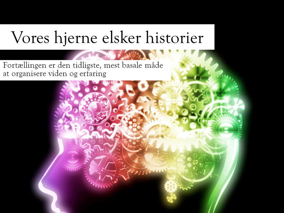 Vores hjerne elsker historier
