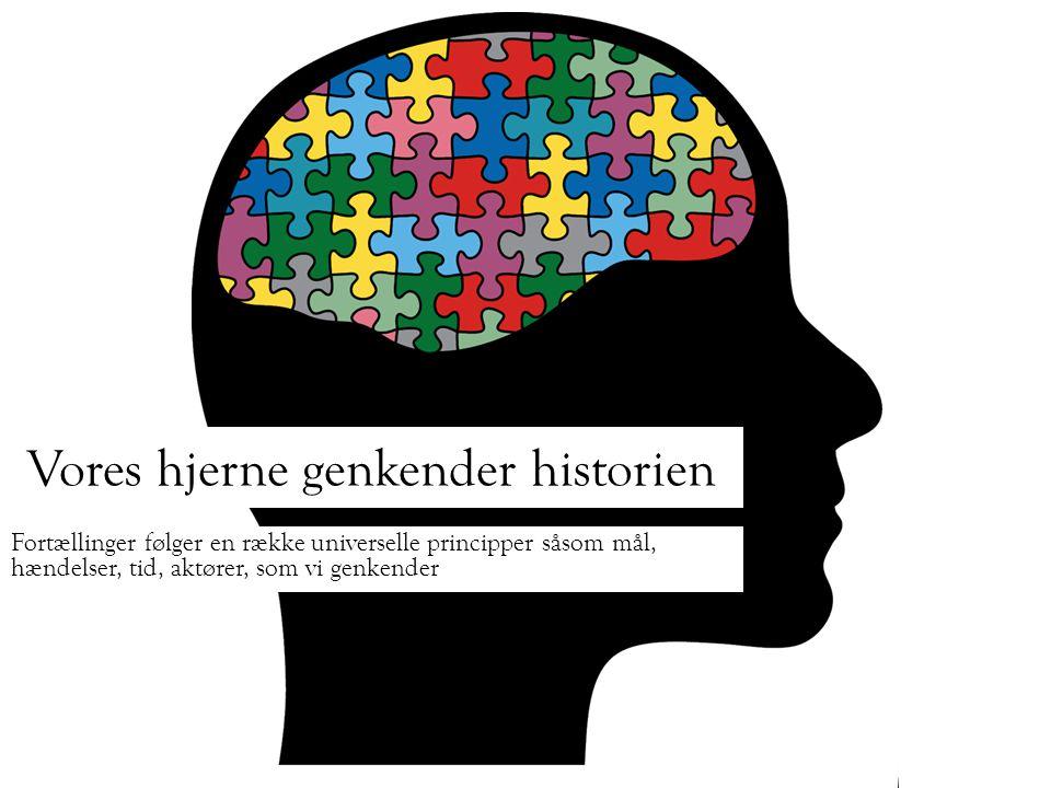 Vores hjerne genkender historien