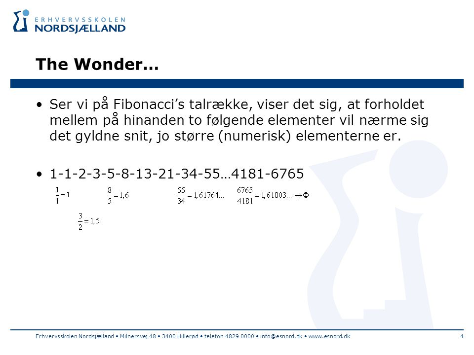 The Wonder…