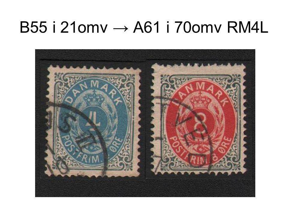 B55 i 21omv → A61 i 70omv RM4L