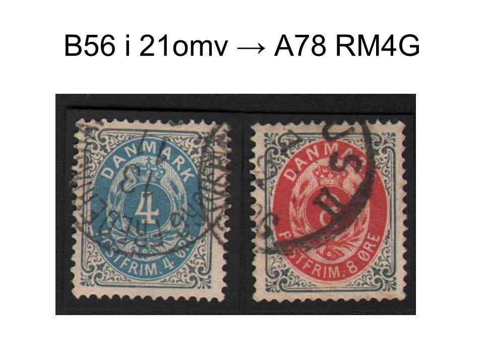 B56 i 21omv → A78 RM4G