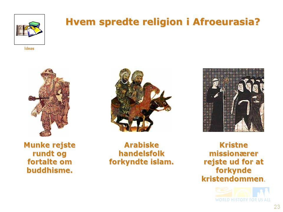 Hvem spredte religion i Afroeurasia