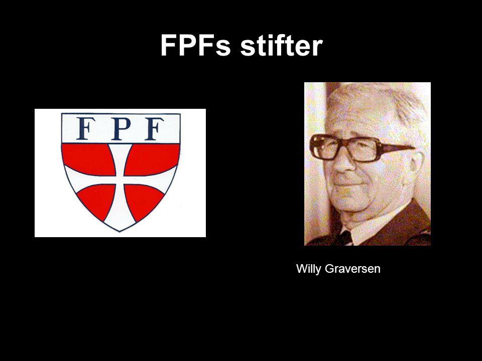 FPFs stifter Willy Graversen