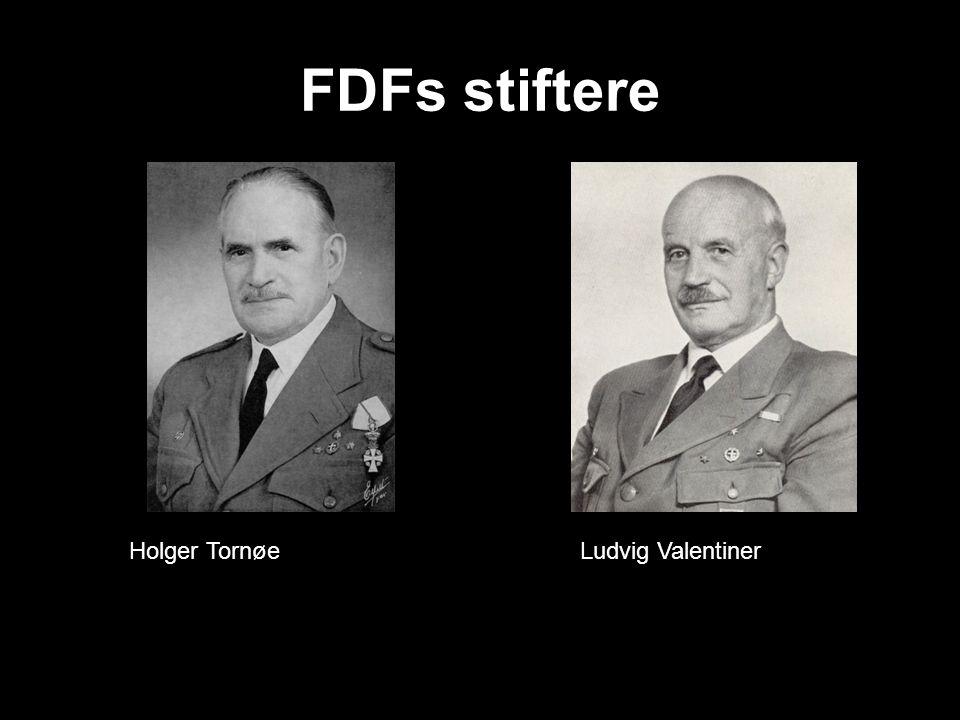 FDFs stiftere Holger Tornøe Ludvig Valentiner