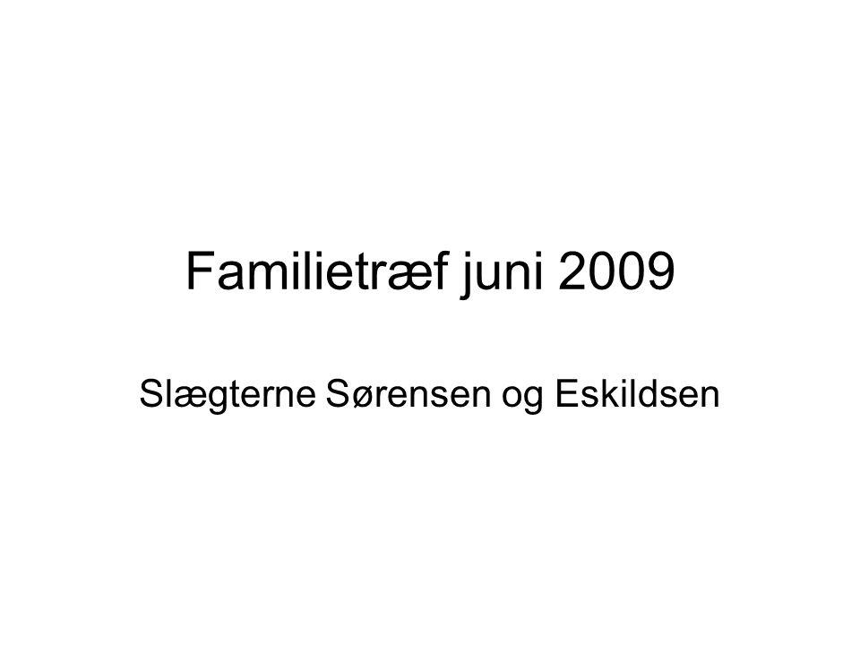 Slægterne Sørensen og Eskildsen