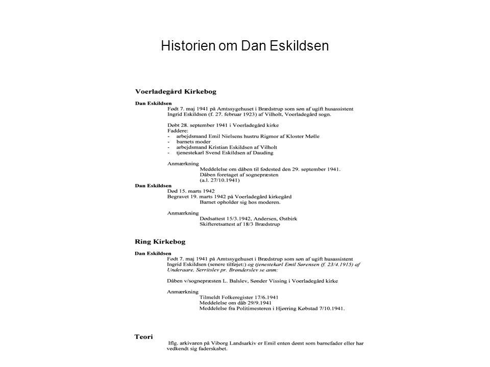 Historien om Dan Eskildsen