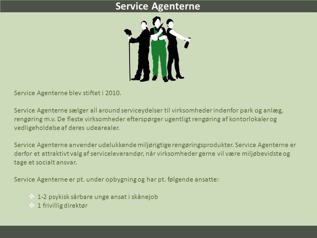 Service Agenterne Service Agenterne blev stiftet i 2010.