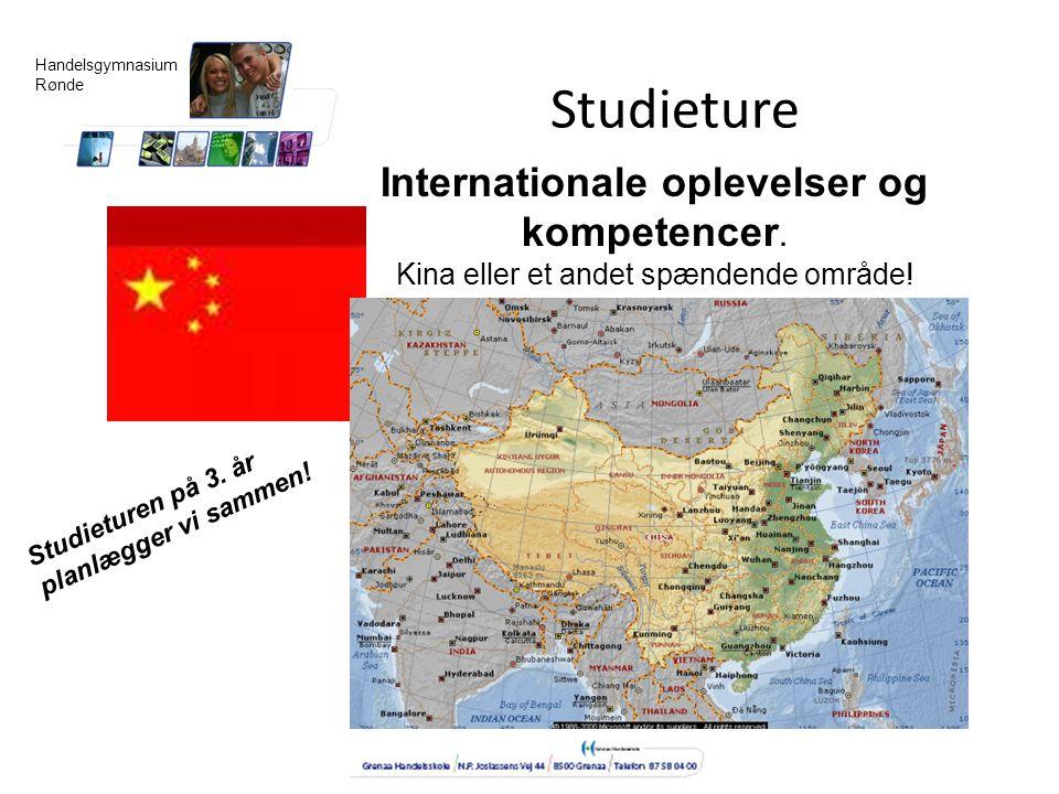 Studieture Internationale oplevelser og kompetencer.