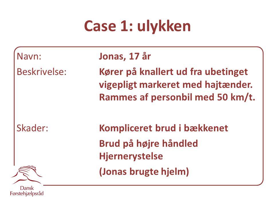 Case 1: ulykken