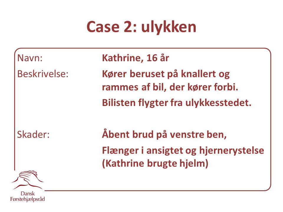 Case 2: ulykken