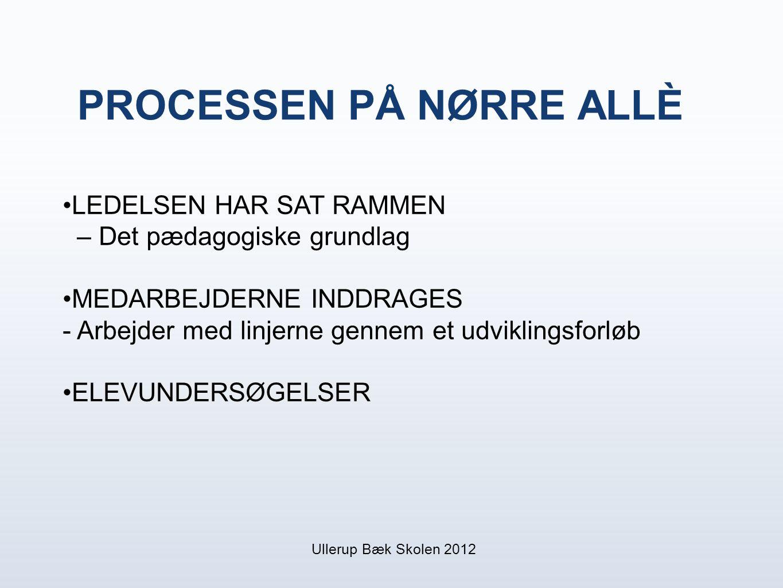 PROCESSEN PÅ NØRRE ALLÈ