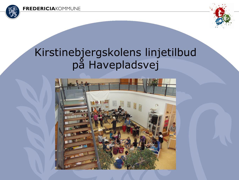 Kirstinebjergskolens linjetilbud på Havepladsvej