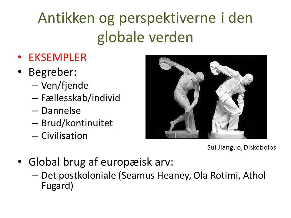 Antikken og perspektiverne i den globale verden