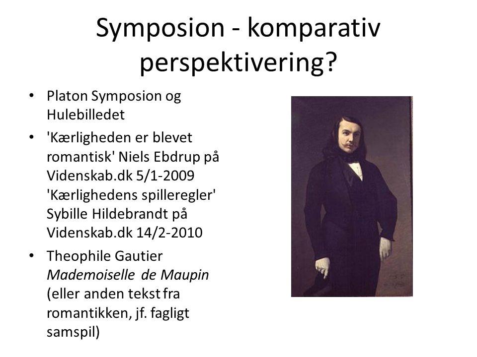 Symposion - komparativ perspektivering
