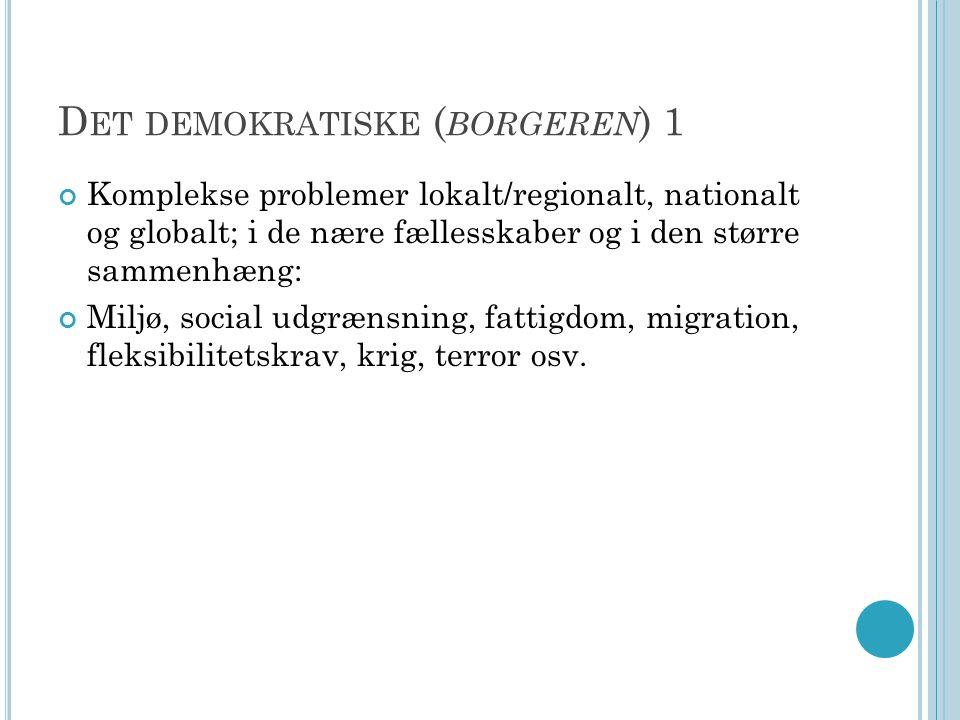 Det demokratiske (borgeren) 1