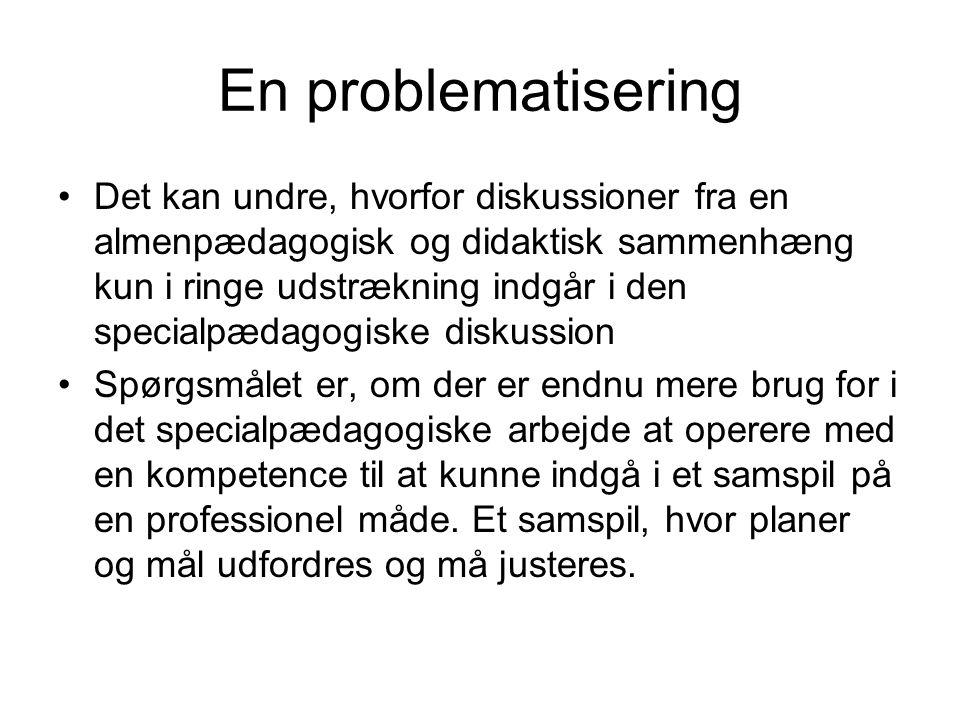 En problematisering