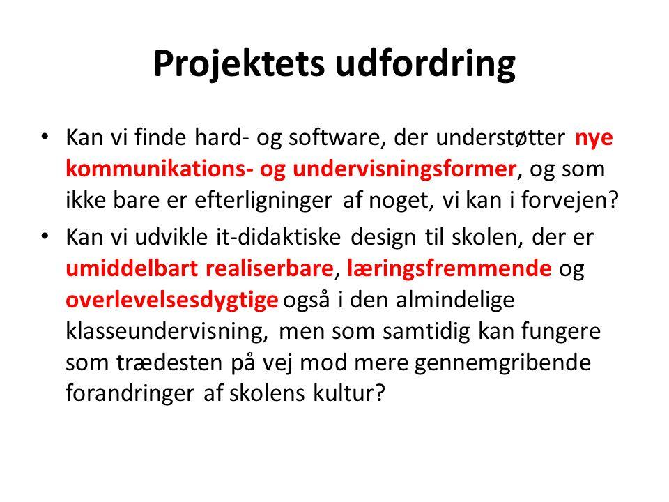 Projektets udfordring