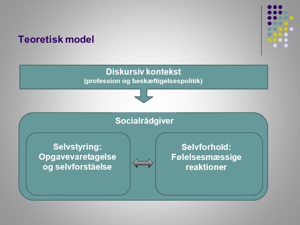 Følelsesmæssige reaktioner (profession og beskæftigelsespolitik)