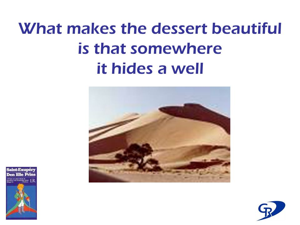What makes the dessert beautiful is that somewhere it hides a well