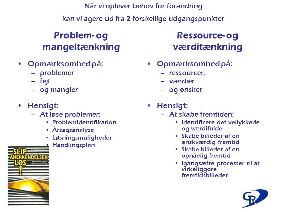 Ressource- og værditænkning
