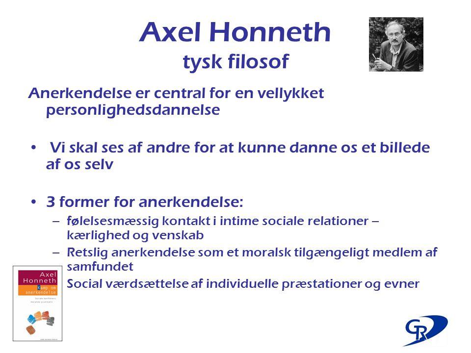 Axel Honneth tysk filosof