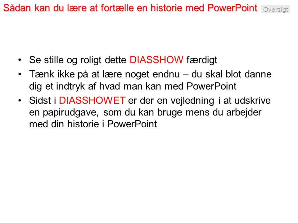 Sådan kan du lære at fortælle en historie med PowerPoint