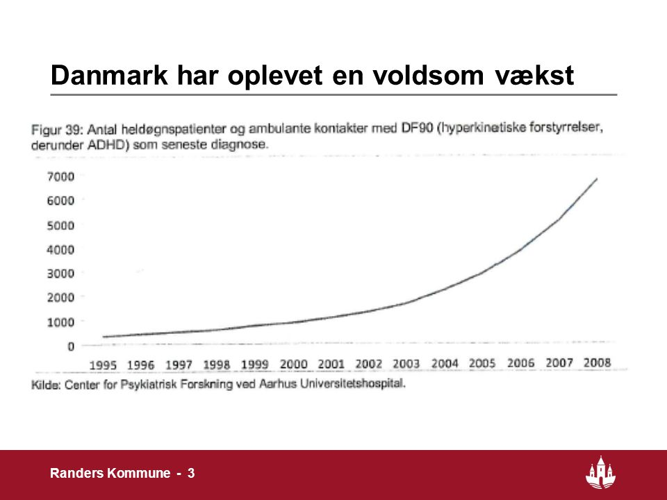 Danmark har oplevet en voldsom vækst