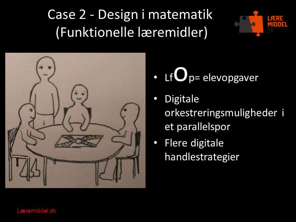 Case 2 - Design i matematik (Funktionelle læremidler)