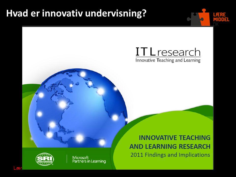 Hvad er innovativ undervisning