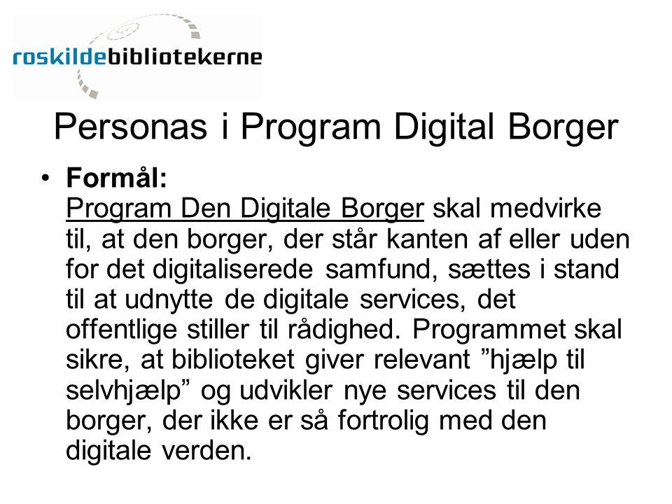 Personas i Program Digital Borger