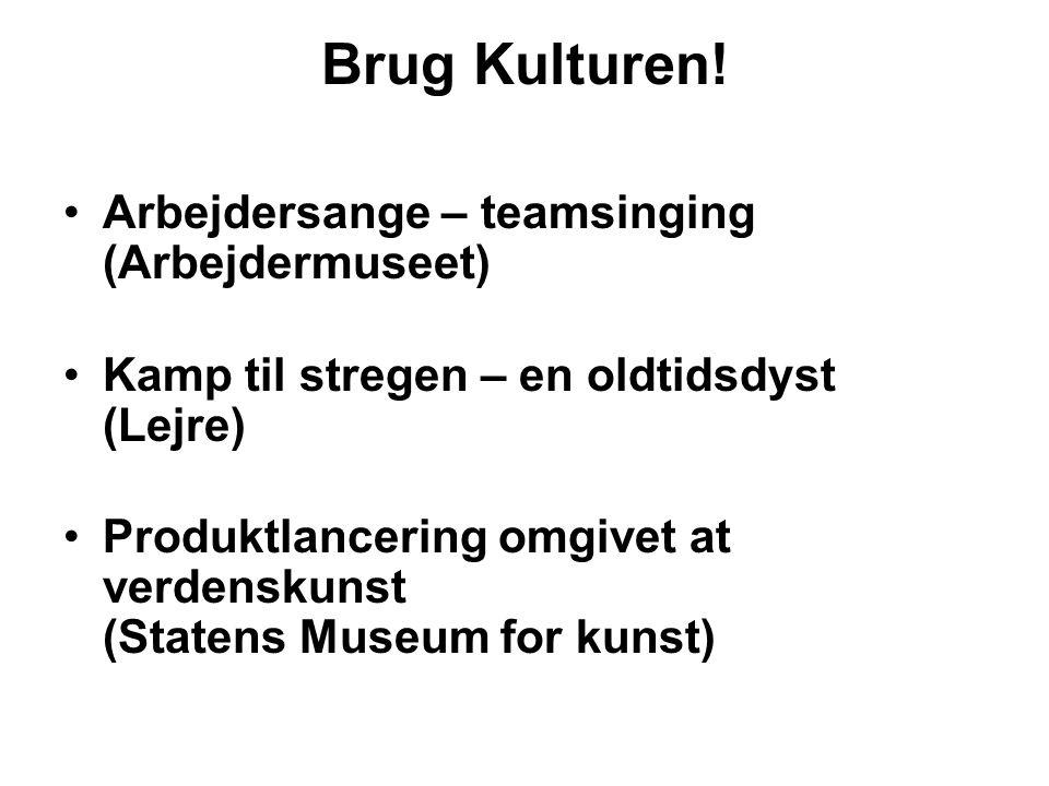 Brug Kulturen! Arbejdersange – teamsinging (Arbejdermuseet)