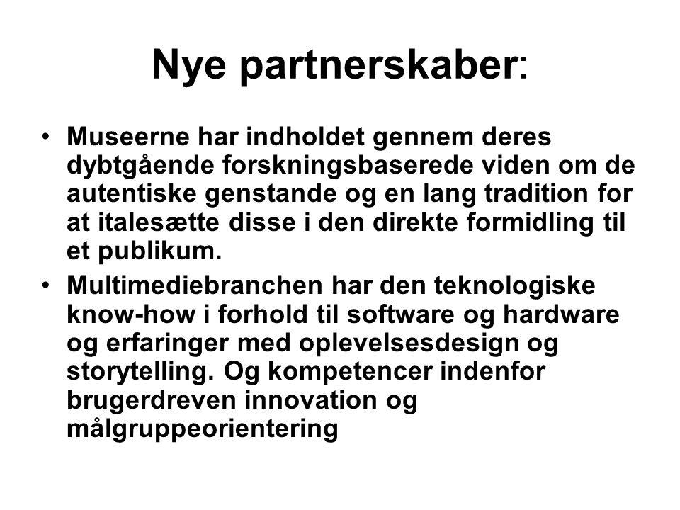 Nye partnerskaber: