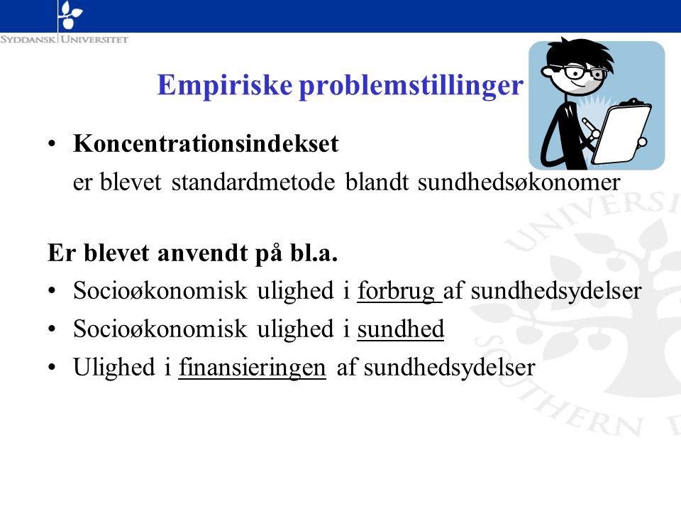 Empiriske problemstillinger