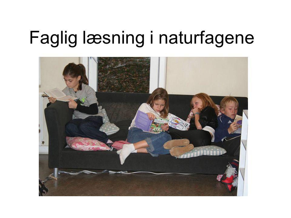 Faglig læsning i naturfagene