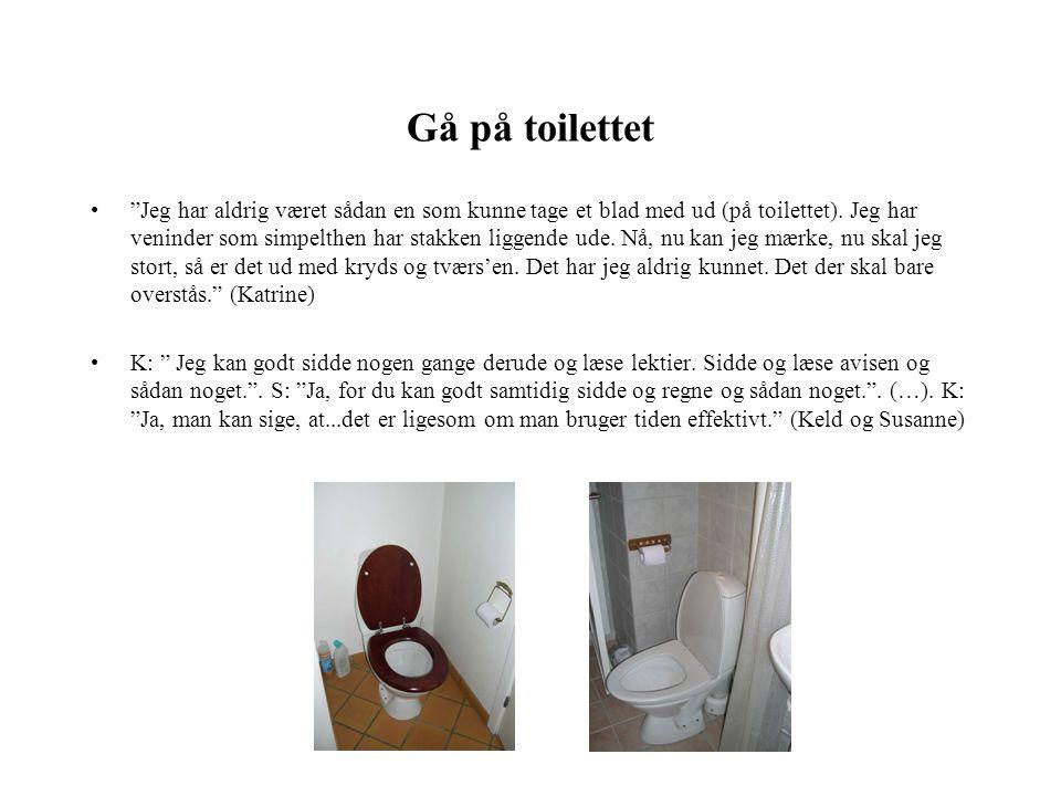 Gå på toilettet