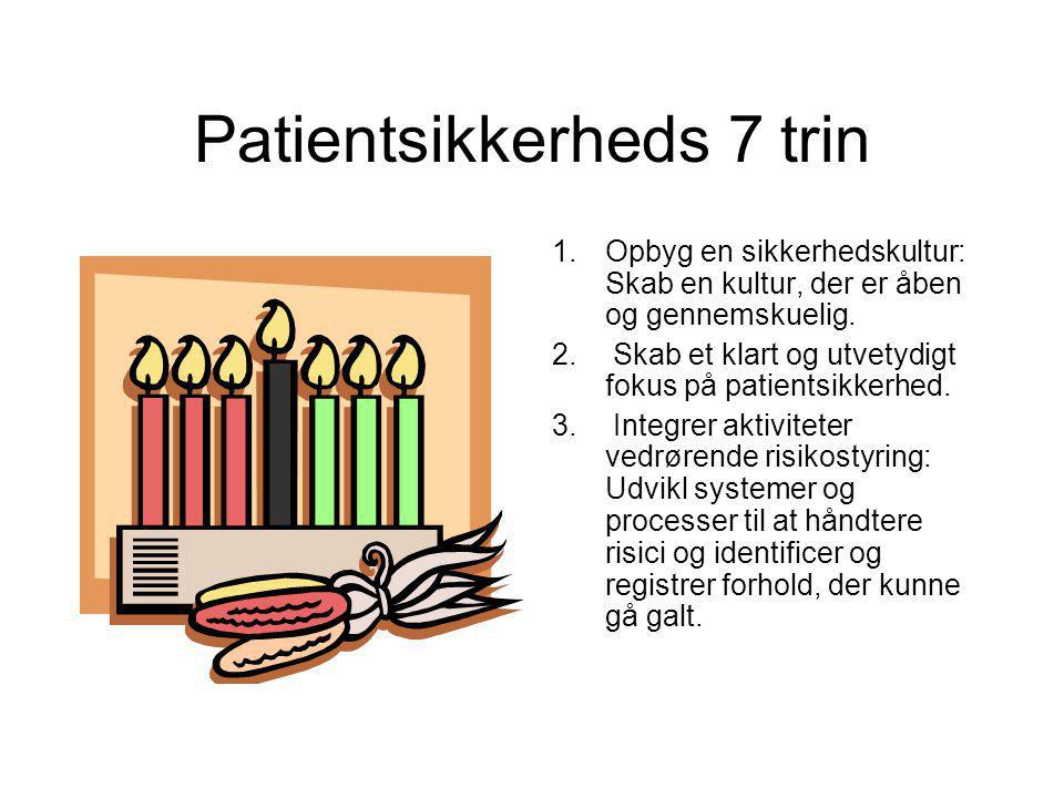 Patientsikkerheds 7 trin