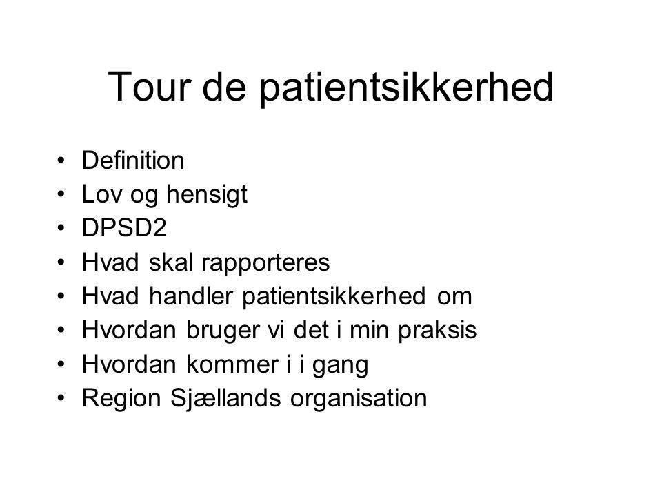 Tour de patientsikkerhed