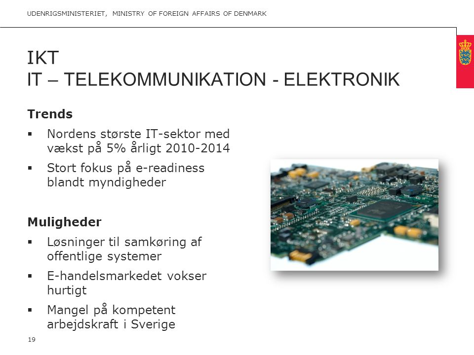 IKT IT – Telekommunikation - Elektronik