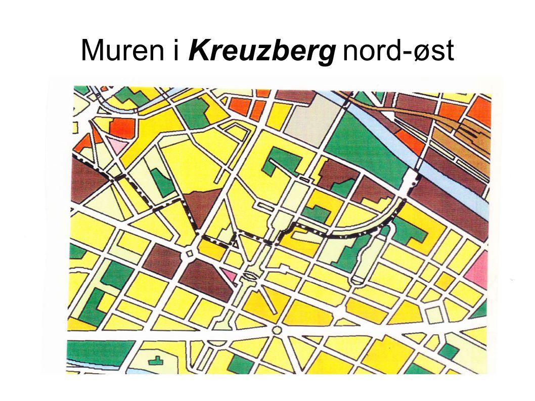 Muren i Kreuzberg nord-øst