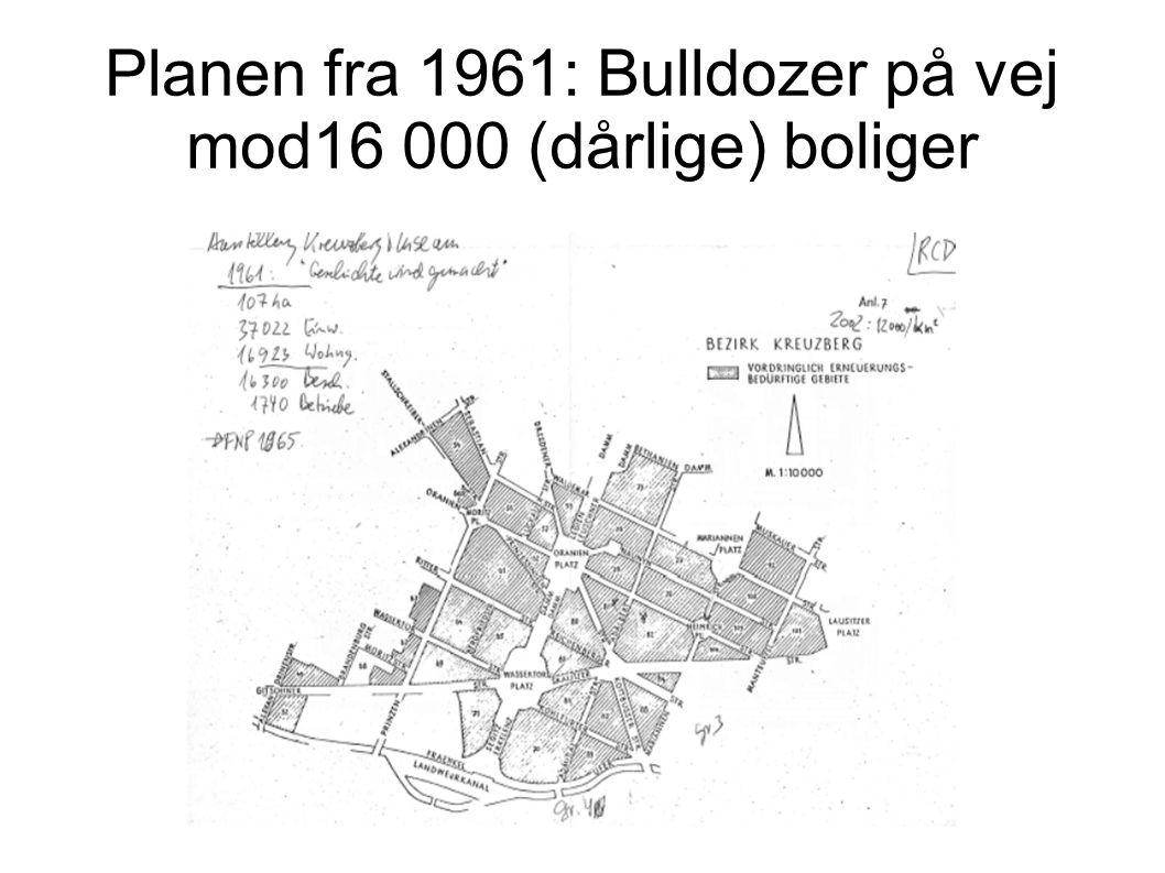 Planen fra 1961: Bulldozer på vej mod16 000 (dårlige) boliger