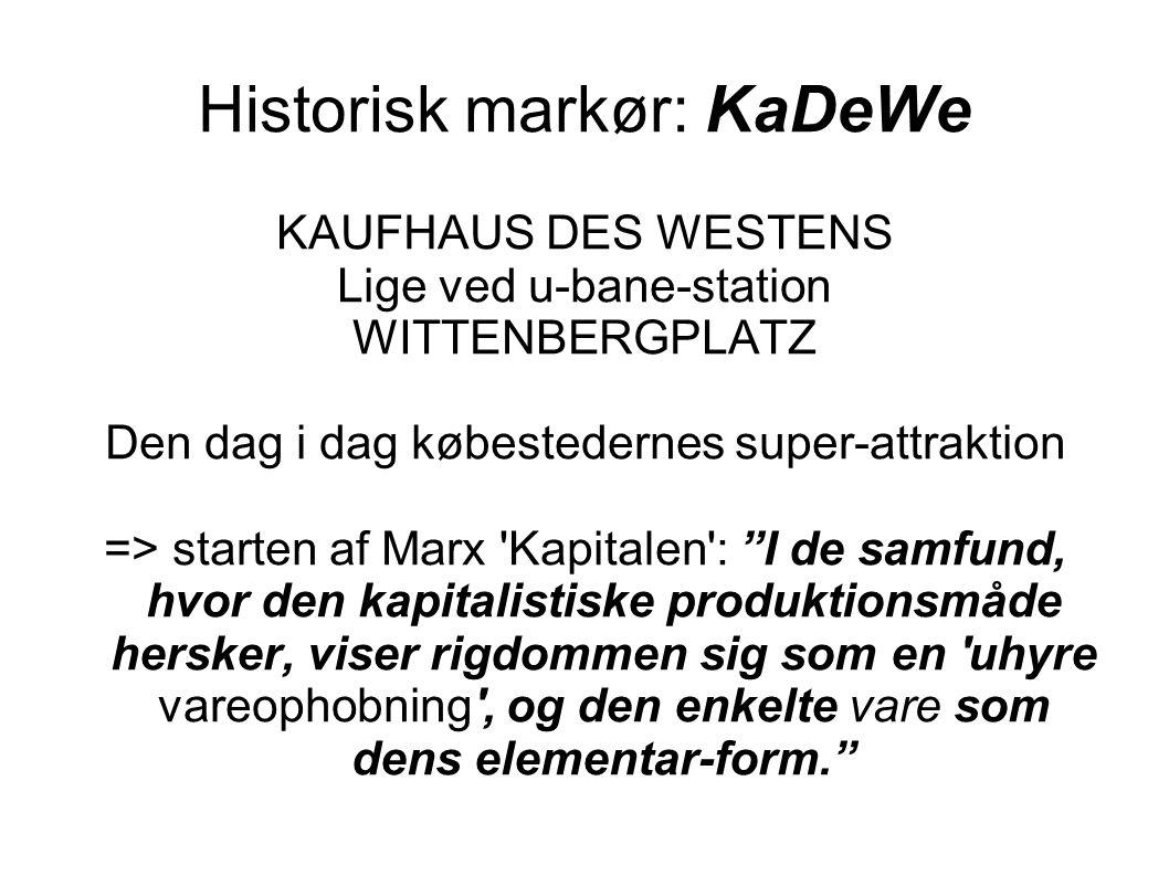 Historisk markør: KaDeWe