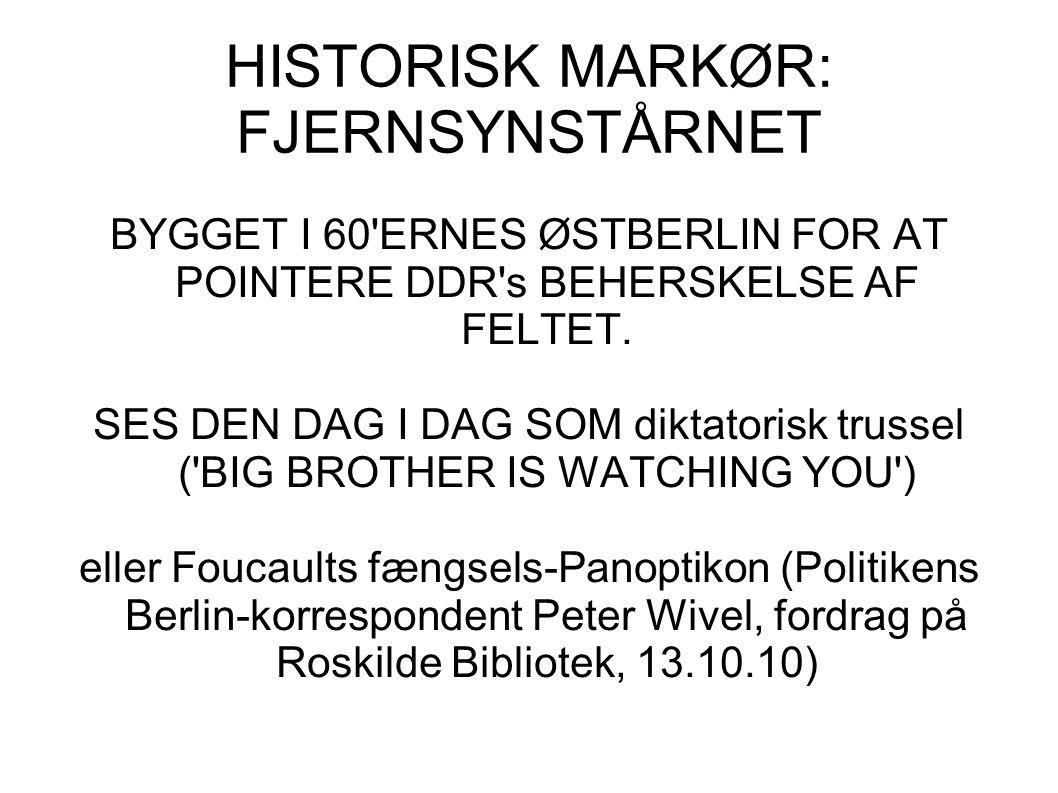 HISTORISK MARKØR: FJERNSYNSTÅRNET