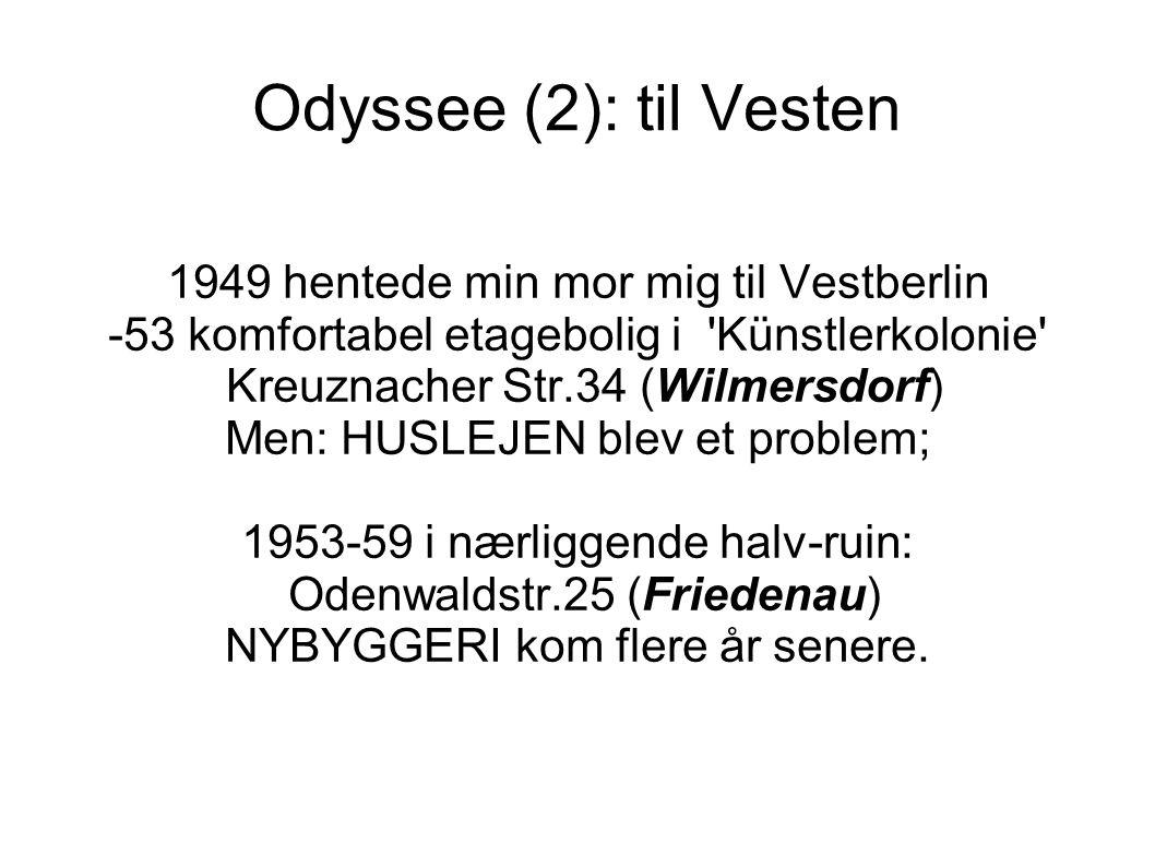 Odyssee (2): til Vesten 1949 hentede min mor mig til Vestberlin