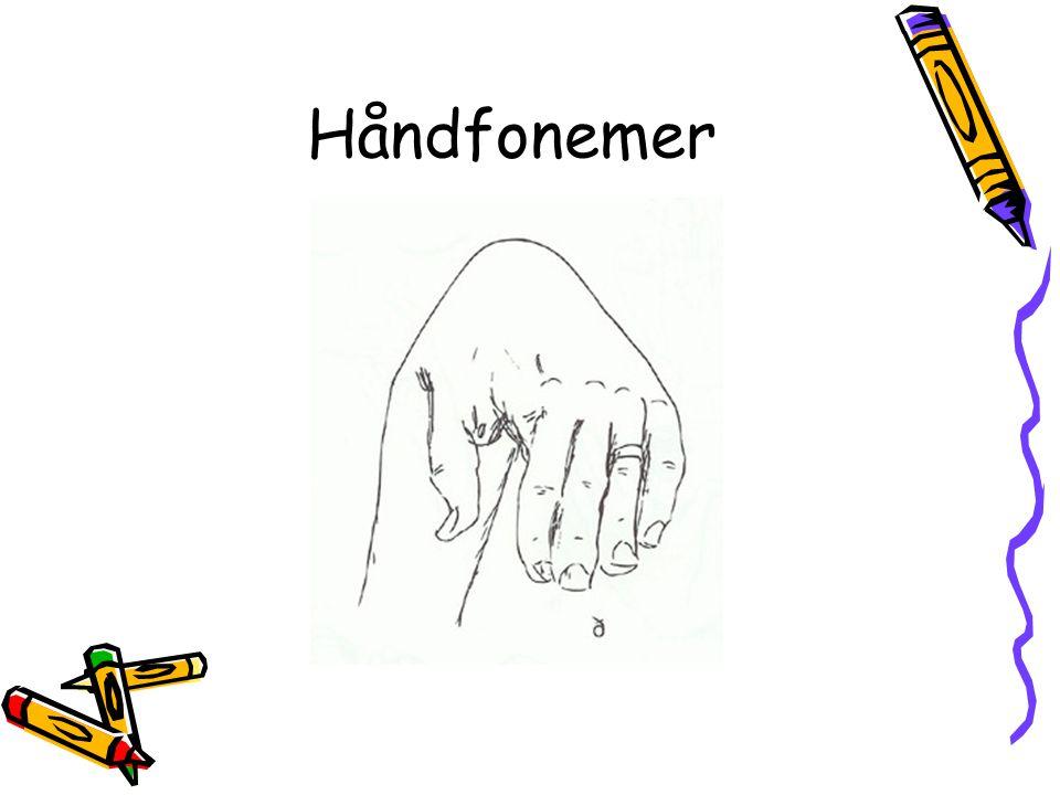 Håndfonemer